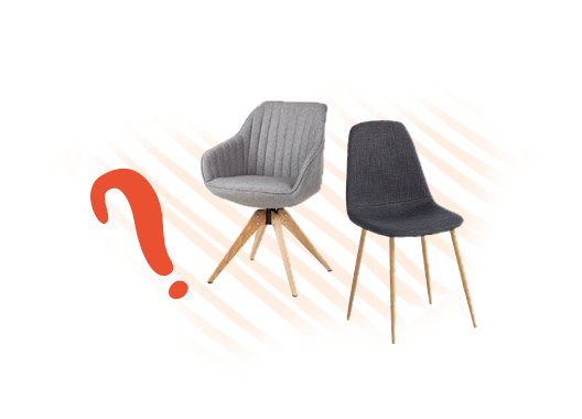 Welcher Stuhl ist der Richtige? Finde es heraus mit dem home24-Ratgeber.