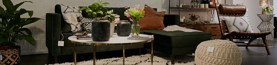 Unsere Möbel im Showroom Hamburg - Fashion For Home