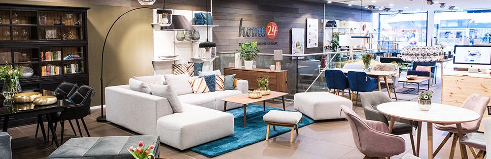 Showroom Berlin Steglitz - Möbel im Shop Probe sitzen | home24