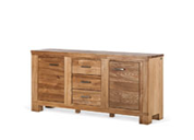 Massief houten commodes & sideboards