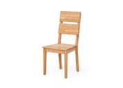 Chaises en bois massif